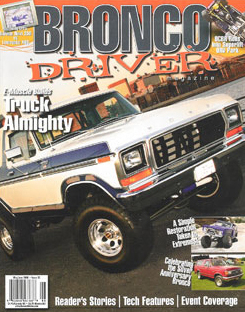 Bronco Driver's cover
